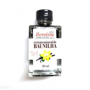 Extrato Natural de Baunilha Bombay 30ml